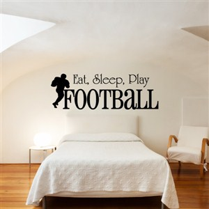 Eat, sleep, play football