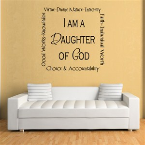 I am a daughter of God