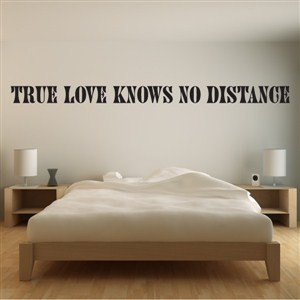 True love knows no distance