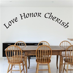 Love Honor Cherish