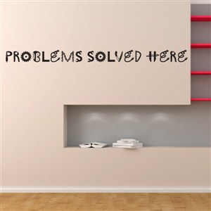 Problems solved here