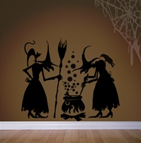 Witches Brew wall decals stickers